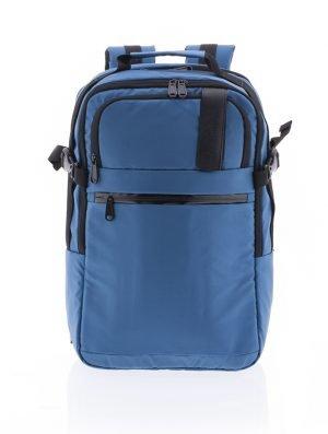 Mochila ligera multifuncional con departamentos para portátil Vogart de nylon impermeable azul