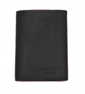 Cartera billetera con portamonedas Pepe Jeans negro