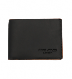 Cartera billetera americana con portamonedas Pepe Jeans negro