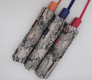 Paraguas Pierre Cardin plegable automático estampado antiviento