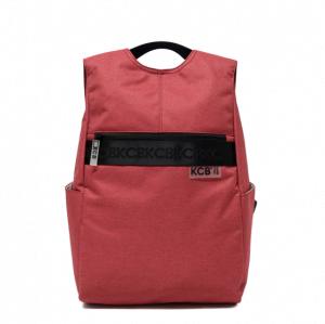 Mochila antirrobo grande con bolsillos KGB rosa antic