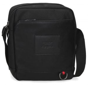 Bolso bandolera para tablet Pepe Jeans negro