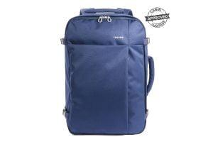 "Mochila maleta ligera de cabina para portátil 17"" Tucano azul marino"