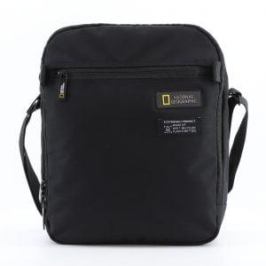 Bolso bandolera grande para tablet National Geographic negro