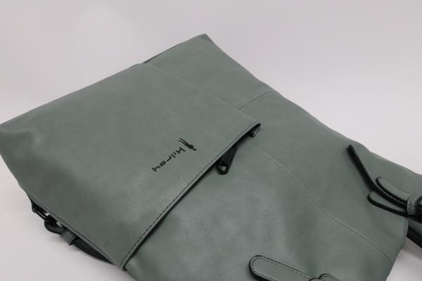 Mochila antirrobo con bolsillo Kilroy verde