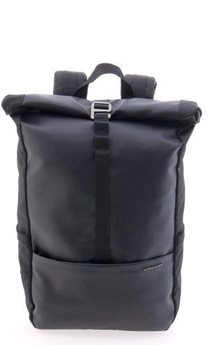 Mochila cremallera y enrollable impermeable Vogart negra