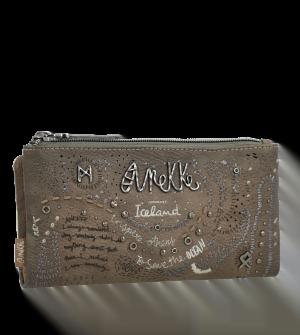 Billetero grande plano estampado Iceland Rune de Anekke
